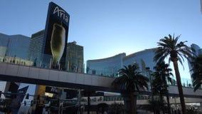 Aria Hotel y casino en Las Vegas - los E.E.U.U. 2017 metrajes