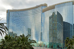 Aria Hotel y casino, Las Vegas Fotografía de archivo libre de regalías