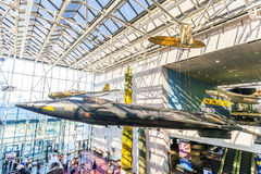 Aria nazionale e museo di spazio a Washington Fotografie Stock Libere da Diritti