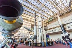 Aria nazionale e museo di spazio a Washington Fotografie Stock