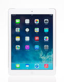 Aria nuovissima del iPad di Apple Immagine Stock Libera da Diritti
