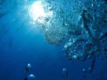 Aria profonda, lo sguardo dalla profondità Fotografia Stock Libera da Diritti