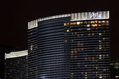 Aria Resort Casino of Las Vegas Royalty Free Stock Photos