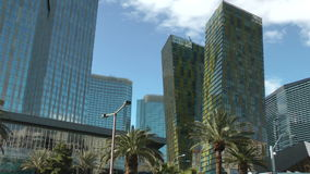 Aria Resort and Casino in Las Vegas on CIRCA 2014. LAS VEGAS, CIRCA 2014: Aria Resort and Casino in Las Vegas on CIRCA 2014. It has an incorporation of stock video footage