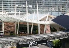 Aria Resort in Las Vegas Stock Photo