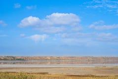 Aria, terra ed acqua fotografia stock libera da diritti