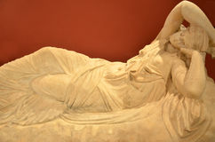 Ariadne sleeping Royalty Free Stock Photography