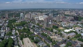 Arial Ansicht Boston-Stadt stock footage