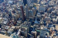 Arial tiró de rascacielos Foto de archivo