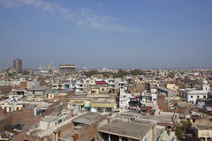Arial view of Bathinda city Royalty Free Stock Image