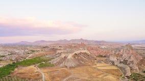 Arial view of Cappadocia. Royalty Free Stock Photos