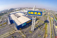 Arial view of IKEA THAIALND Royalty Free Stock Photography