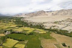 Arial view of Leh Stock Photo