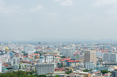 Arial View of Pataya Thailand Royalty Free Stock Photography