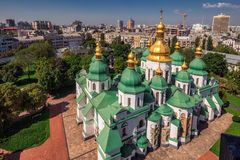 Sophia Cathedral arial Stock Image