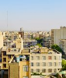 Tehran street architecture, Iran Stock Photo
