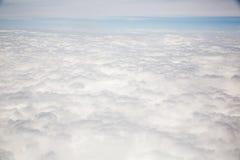 Arialmening van overzeese wolk Stock Afbeeldingen
