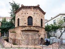 Arian Baptistery à par l'intermédiaire de d Ariani à Ravenne Image stock