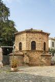 Arian Baptistry, Ravenna, Italië stock foto