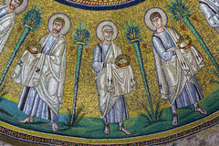 Arian Baptistry, Ravenna, Italy. The Arian Baptistry in Ravenna, Italy was erected by the Ostrogothic King Theodoric the Great between the end of the 5th century Royalty Free Stock Images
