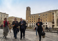 Arian berg european commissione lecce 2019 Stock Photos
