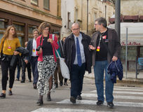 Arian berg european commissione lecce 2019 Stock Photography