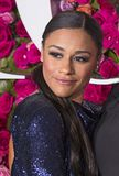 Ariana DeBose at the 2018 Tony Awards. Actress Ariana DeBose arrives on the red carpet for the 72nd Annual Tony Awards held at Radio City Music Hall in New York Royalty Free Stock Photo