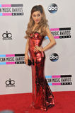 Ariana Grande. At the 2013 American Music Awards at the Nokia Theatre, LA Live. November 24, 2013  Los Angeles, CA Picture: Paul Smith / Featureflash Royalty Free Stock Photo