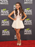 Ariana Grande. At the 2013 MTV Movie Awards at Sony Studios, Culver City. April 14, 2013  Los Angeles, CA Picture: Paul Smith / Featureflash Royalty Free Stock Photography