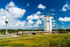 Ariane Launch Area 1 in der Guayana-Raum-Mitte stockbild