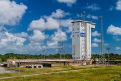 Ariane Launch Area 1 in der Guayana-Raum-Mitte stockfotos