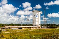 Ariane Launch Area 1 in der Guayana-Raum-Mitte stockbilder
