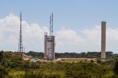 Ariane Launch Area 3 in der Guayana-Raum-Mitte stockbilder