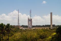Ariane Launch Area 3 in der Guayana-Raum-Mitte lizenzfreies stockfoto