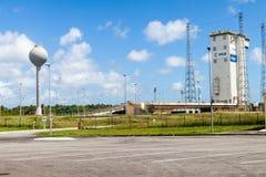 Ariane Launch Area 1 in der Guayana-Raum-Mitte lizenzfreies stockbild