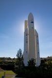 Ariane raket Royaltyfria Foton