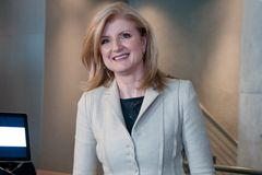 Arianna Huffington Immagine Stock