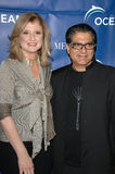 Arianna Huffington,Deepak Chopra Stock Images