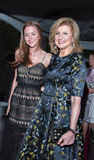 Arianna Huffington et fille Christina Huffington Photographie stock