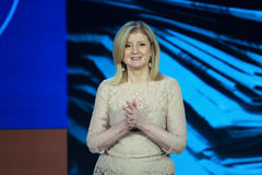 Arianna Huffington at Microsoft Convergence Royalty Free Stock Photos
