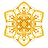 Aribic五颜六色的坛场 种族部族装饰品 库存照片