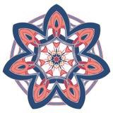 Aribic五颜六色的坛场 种族部族装饰品 免版税库存图片