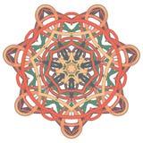 Aribic五颜六色的坛场 种族部族装饰品 免版税库存照片