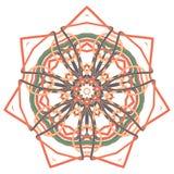 Aribic五颜六色的坛场 种族部族装饰品 图库摄影