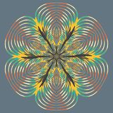 Aribic Colorful Mandala. Ethnic tribal ornaments. Colorful Mandala. Ethnic tribal ornaments. Geometric and floral motifs Stock Images
