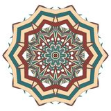 Aribic Colorful Mandala. Ethnic tribal ornaments Stock Photo