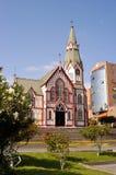 Arica, catedral de la iglesia imágenes de archivo libres de regalías