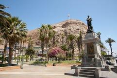 Arica - Chile. Arica Coastal City in Chile stock photo