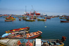 Arica Harbour Royalty Free Stock Images