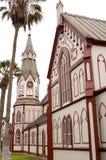Arica, kerkkathedraal Stock Afbeeldingen